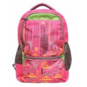 Via Harp manhattan b 12 L Laptop Backpack(Pink)