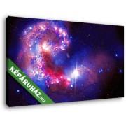 Csillagok a világegyetemben (40x25 cm, Vászonkép )