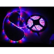 Komplet vodotesný farebný RGB LED pásik 5m