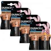 Duracell Ultra Power D Pack von 8 (BUN0079A)