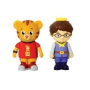 PBS Kids Daniel Tigers Neighborhood Figures Daniel Tiger and Prince Wednesday 2.5 Inches