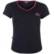Camiseta Lonsdale mujerazul marino morada