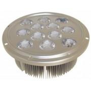 Spot 12x1W, 220V,cu radiator aluminiu, cu sursa