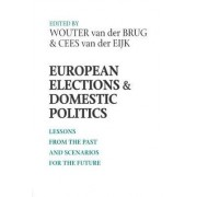 European Elections and Domestic Politics by Wouter Van Der Brug