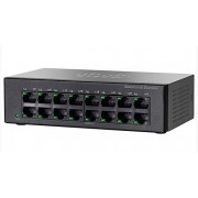 Cisco SF110D-16 16-pordiga 10/100 Desktop Switch
