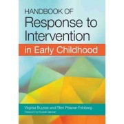 Handbook of Response to Intervention in Early Childhood by Virginia Buysse