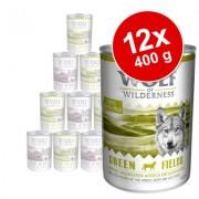 Voordeelpakket: Wolf of Wilderness 12 x 400 g - Oak Woods - Wildzwijn