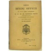 Ordo Divini Officii Ad Usum Cleri Parisiensis Ee. Ac Rr. Dd. Cardinalis Suhard, Tituli Sancti Honuphrii In Janiculo -1936