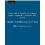 Homer Vol. V. Hymns, etc by D. B. Monro