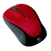 myš Logitech Wireless Mouse M235 nano, červená