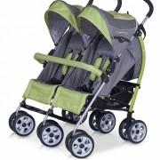 Carucior pentru gemeni Duo Comfort Verde EC40002G
