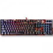 Геймърска механична клавиатура A4tech Bloody B810R TANK, Сини суичове, Tank Skin, A4-KEY-B810R-TANK
