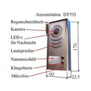 Anykam DT-592-HD Weitwinkelkamera Aussenstation Zweifamilienhaus Aufputz