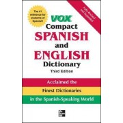 Vox Compact Spanish & English Dictionary, 3E (HC) by Vox