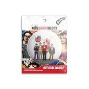 The Big Bang Theory - IQ Badge licensed by warner Bros,USA