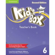Kid's Box American English Level 6 Teacher's Book by Lucy Frino