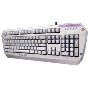 Tastatura Gaming Colada G3NL Black LED Aluminum Mechanical Edition Brown Switch (Argintiu)