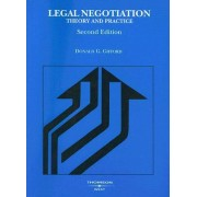 Legal Negotiation by Donald Gifford
