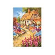 English Cottage & Garden Jigsaw Puzzle - Puzzles - Jigsaw
