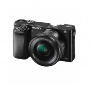 Aparat foto Mirrorless Sony Alpha A6000 24.3 Mpx WiFi NFC Black Kit 16-50mm