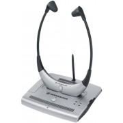 Casti Stereo Sennheiser RS 4200 II, Wireless (Negru/Argintiu)