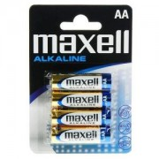 Maxell Pile Alcaline AA x 4 LR6