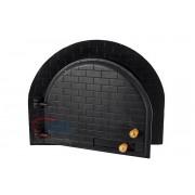 Porta para forno modelo Iglu em ferro