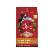 Purina ONE SmartBlend Chicken & Rice Formula Adult Premium Dry Dog Food, 31.1-lb bag