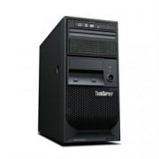 Lenovo Servidor Torre ThinkServer TS150 Intel 1x Xeon E3-1225v5 QC 3.3GHz, 8GB até 64GB DDR4,1 1TB HD SATA 7.2K até 24TB, DVDRW, 8 USB 3.0 (2 front; 6 rear), 1 RJ-45 gigabit Ethernet, 1 serial ; 1 VGA, 1 Ano, 1x 250W, Windows Server 2012 Found 70LVA009B