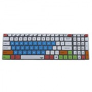 Leze - MSI GS60 GS70 GE62 GE72 GL62 GE72 WT60 PE60 PE70 Ghost GP62 Leopard Pro WS60 GT72 GT72S GT62VR GT72VR Dominator / Pro Gaming GS63VR GS73VR GT73VR Laptop Keyboard Protector Cover - White Blue