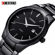 Curren 2017 Top Brand Business Men Male Luxury Watch Casual Full steel Calendar Wristwatch Man quartz watches relogio masculino