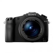 """Sony DSC-RX10 Fotocamera Digitale Cyber-shot, Sensore CMOS Exmor R da 1"""" e 20,2 Megapixel, Obiettivo Zeiss Vario-Sonnar T* con Zoom Ottico 8,3x, Nero"""