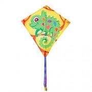 Invento 100123 - Eddy Camille Chameleon, aquilone per bambini Aquilone, dai 5 anni, 68 x 68 cm e 2 m drago coda ripstop-poliestere 2 - 5 Beaufort