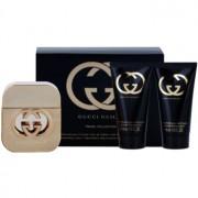 Gucci Guilty coffret VII. Eau de Toilette 50 ml + gel de duche 50 ml + creme corporal 50 ml