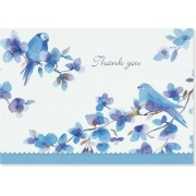 Bluebirds Thank You Notes (Stationery, Note Cards, Boxed Cards) by Peter Pauper Press