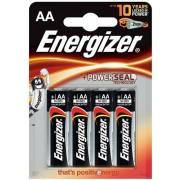 Baterii alcaline AA Energizer 7638900246599, 1.5V, 4 buc