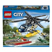 Lego City Police Helicopter Pursuit, Multi Color