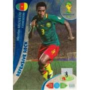FIFA World Cup 2014 Brazil Adrenalyn XL Nicolas Nkoulou Defensive Rock