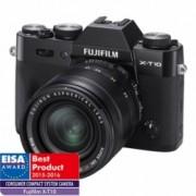Fujifilm X-T10 negru kit Fujinon XF 18-55mm f/2.8-4 R LM OIS negru