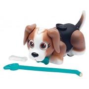 Giochi Preziosi - Pet Parade, Cucciolo di Cane, Razza Beagle con Osso e Guinzaglio, Bianco/Marrone