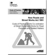 Code of Practice for the Co-ordination of Street Works and Works for Road Purposes and Related Matters by Great Britain: Highway Authorities & Utilities Committee