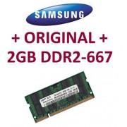 Samsung ddr22gb 200 pin DDR2 - 667 (PC2 - 5300) 128 Mx8 x 16double Side (Original m470t5663qz3ce6)