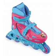 Görkorcsolya gyerekeknek Frozen Mondo inline méret 33-36 5 éves kortól 4 kerékkel