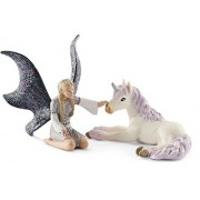 Schleich Landariel with Unicorn foal