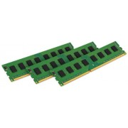 Kingston KVR16LE11K3/24I Memoria RAM da 24 GB, 1600 MHz, DDR3L, ECC CL11 DIMM Kit (3x8 GB), 1.35 V, 240-pin, Certificata Intel
