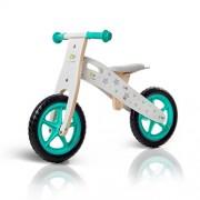 Niños fuerza Runner impulsor de madera con funda y timbre en 2 coloures Stars