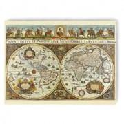 Puzzle Harta Lumii In 1665, 3000 Piese