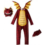 California Costumes Fire Breathing Dragon Toddler Costume, 3-4