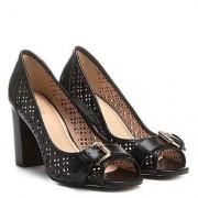 Shoestock Peep Toe Shoestock Laser - Feminino
