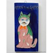 Mattonelle ceramica attenti al gatto ma8